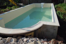 Construction piscines